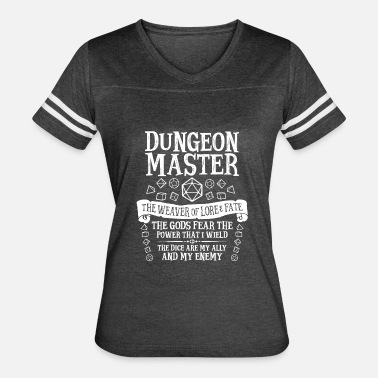 Critical Dungeon Master, The Weaver of Lore & Fate - Women's Vintage Sport T-Shirt