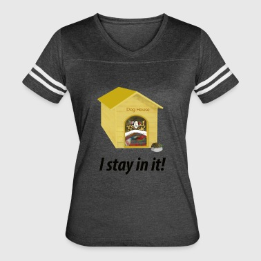 In the Doghouse - Women's Vintage Sport T-Shirt