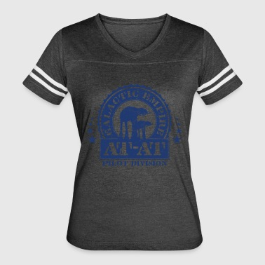 Galactic Empire Galactic Empire AT-AT Pilot Division - Women's Vintage Sport T-Shirt