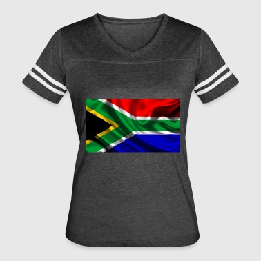 South-African-Flag - Women's Vintage Sport T-Shirt