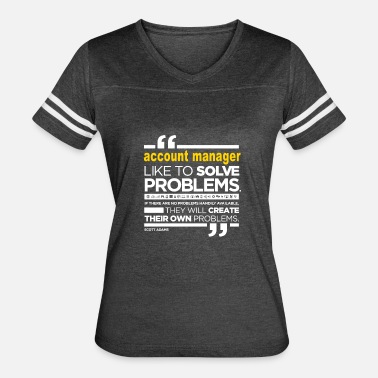 Account Manager Funny ACCOUNT MANAGER - Women's Vintage Sport T-Shirt