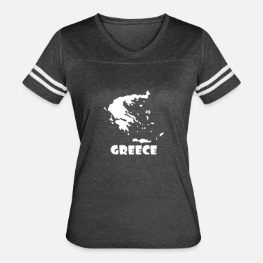 Greece Map Greece Map - Women's Vintage Sport T-Shirt