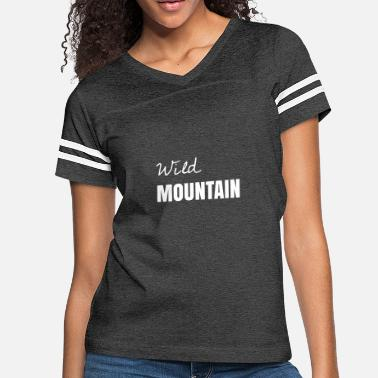 Mountain Bike Beer Wild MOUNTAIN - Women's Vintage Sport T-Shirt