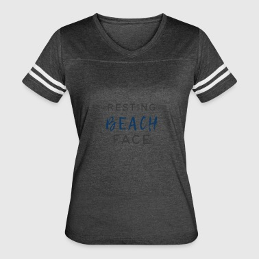 Resting Beach Face - Women's Vintage Sport T-Shirt