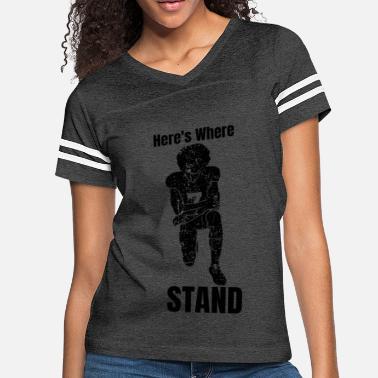 0cfe1378 Women's Premium T-Shirt. WINE & DENVER. from $26.49 · Nfl Funny Here's  Where I Stand - Women's