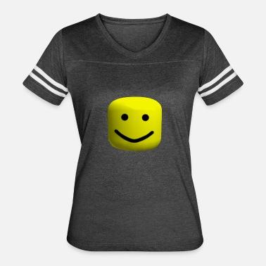 Roblox Big Noob Head Womens T Shirt Spreadshirt
