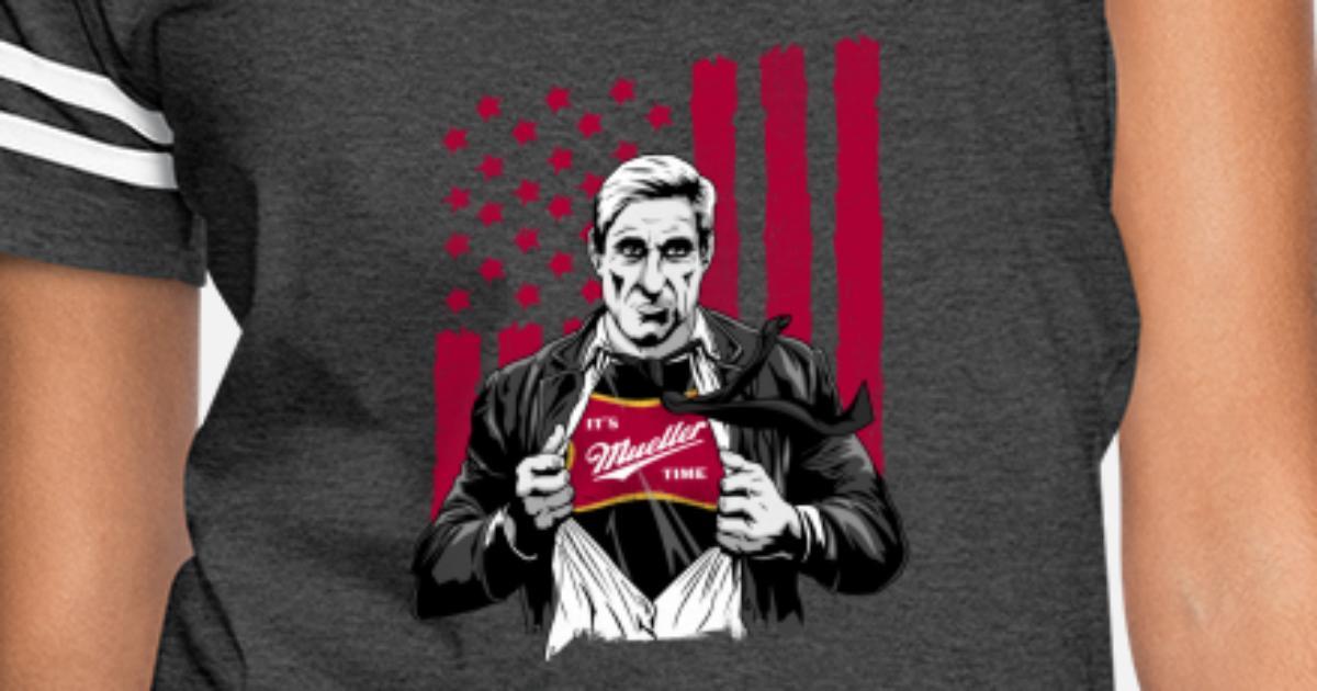 8bf26df9 It's Mueller Time Shirt Anti Trump Campaign Women's Vintage Sport T-Shirt |  Spreadshirt