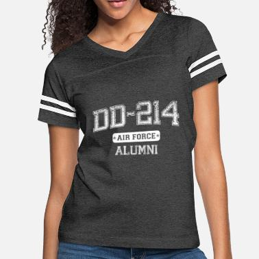 Dd-214 DD-214 AIR FORCE ALUMNI T-SHIRT - Women's Vintage Sport T-Shirt