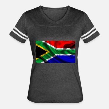 South African Flag South-African-Flag - Women's Vintage Sport T-Shirt