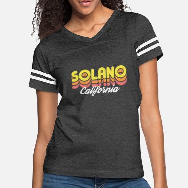 Retro Solano California - Women's Vintage Sport T-Shirt