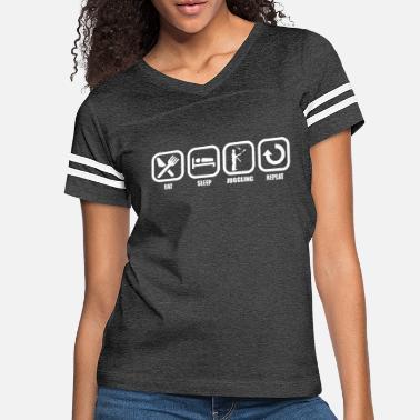 Mens Shirt Eat Sleep Unicycling Repeat Tee Shirt Womens Shirt