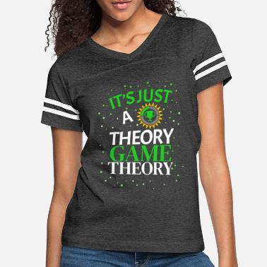 Just Game Theory Just Statistics Theory Stats - Women's Vintage Sport T-Shirt