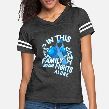Brain Prostate Cancer Awareness In This Family No One - Women's Vintage Sport T-Shirt