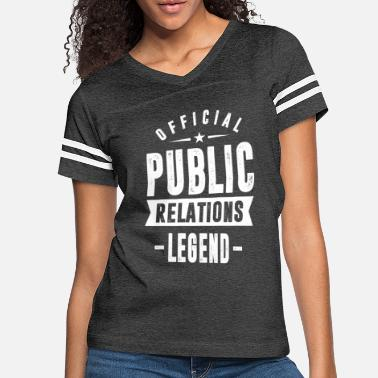 Public Viewing Public Relations - Women's Vintage Sport T-Shirt