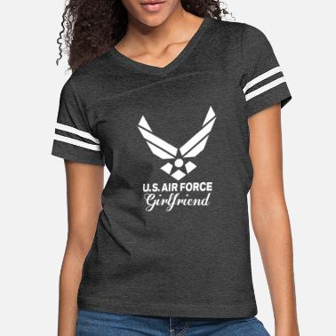 Girlfriend Proud U.S. Air Force Girlfriend - Women's Vintage Sport T-Shirt
