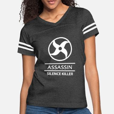 Mobile Mobile Legends Assassin white - Women's Vintage Sport T-Shirt