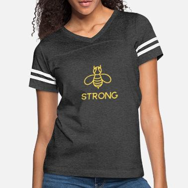 Bee STRONG - Women's Vintage Sport T-Shirt