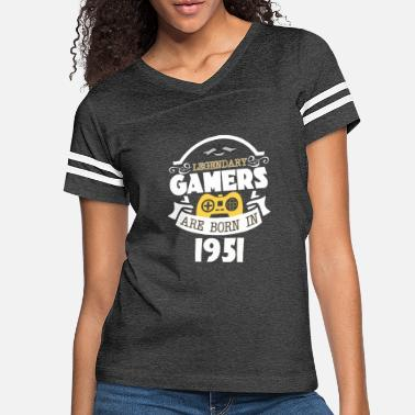 1951 Legendary Gamers Are Born In 1951 - Women's Vintage Sport T-Shirt