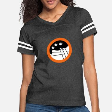 Holland roadsign spliff - Women's Vintage Sport T-Shirt