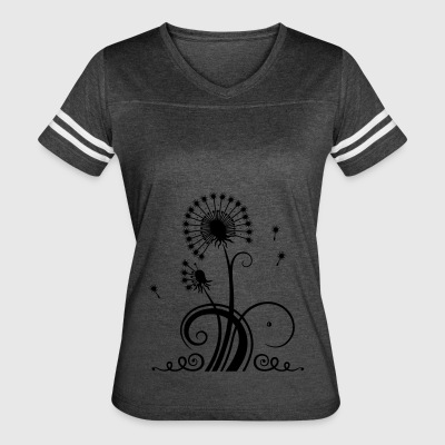 Large dandelion, summer and spring. - Women's Vintage Sport T-Shirt
