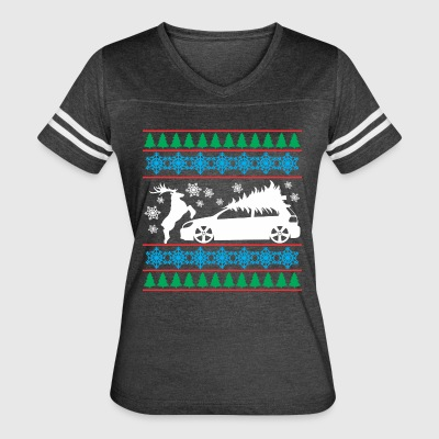 MK6 GTI Ugly Christmas Sweater - Women's Vintage Sport T-Shirt