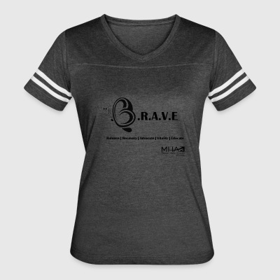Be Brave1 - Women's Vintage Sport T-Shirt