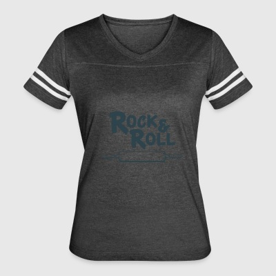 Rock and Roll Kitchen - Women's Vintage Sport T-Shirt