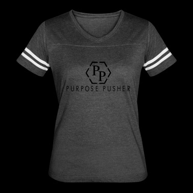 Purpose Pusher Apparel - Women's Vintage Sport T-Shirt