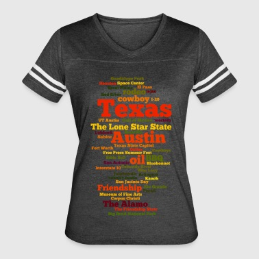 Texas (US state, The Lone Star State) - Women's Vintage Sport T-Shirt