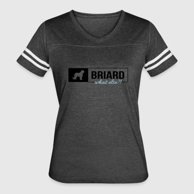 Briard what else - Women's Vintage Sport T-Shirt