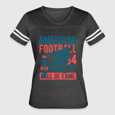 American Football Retro Vintage Distressed Design - Women's Vintage Sport T-Shirt
