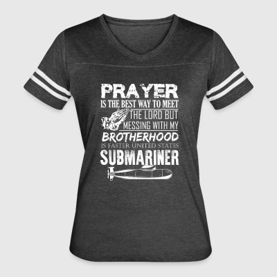 Submariner Prayer Shirt - Women's Vintage Sport T-Shirt