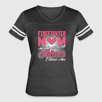 Firefighter Mom Shirt - Women's Vintage Sport T-Shirt