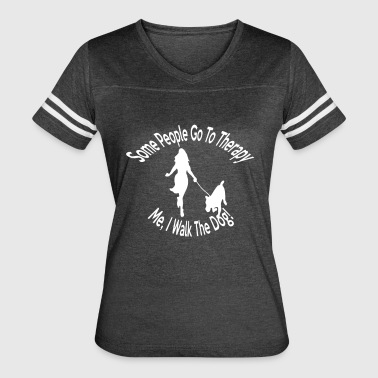 Dog Walk - Women's Vintage Sport T-Shirt