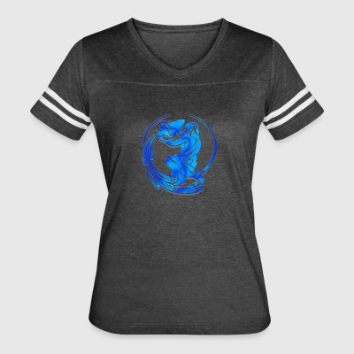 Aquarius Astrological Sign Shirt - Women's Vintage Sport T-Shirt