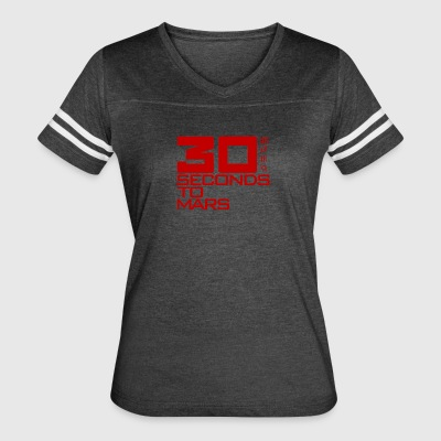 30 Second to Mars Shannon Jared Leto Rock Band Tou - Women's Vintage Sport T-Shirt