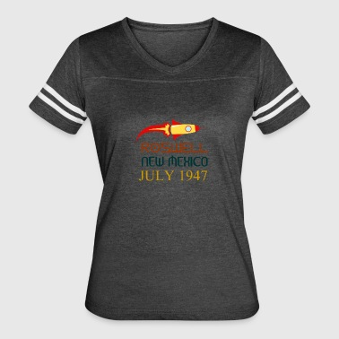 Roswell New Mexico july 1947 - Women's Vintage Sport T-Shirt