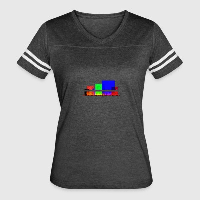 Colourful abstract shapes roman - Women's Vintage Sport T-Shirt