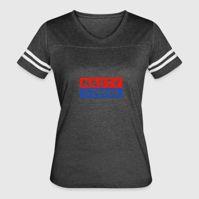 Anti Trump designs - Women's Vintage Sport T-Shirt