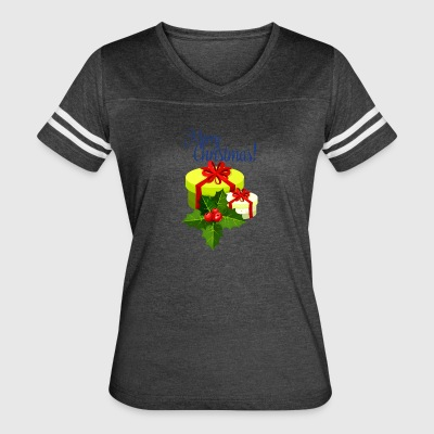 merry-christmas - Women's Vintage Sport T-Shirt
