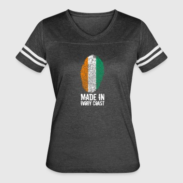 Made In Ivory Coast - Women's Vintage Sport T-Shirt