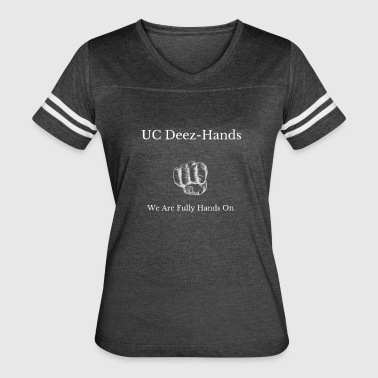 UC Deez-Hands Hands On - Women's Vintage Sport T-Shirt