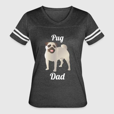 Pug Dad - Women's Vintage Sport T-Shirt
