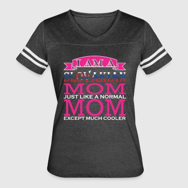 Slovakian Mom Just Like Normal Mom Except Cooler - Women's Vintage Sport T-Shirt