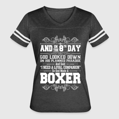 And On The 8th Day God Look Down So God Made A Box - Women's Vintage Sport T-Shirt