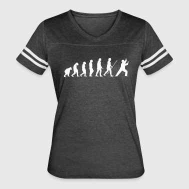Tai Chi Evolution white - Women's Vintage Sport T-Shirt
