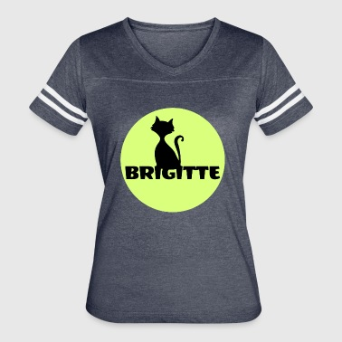 Name Day Brigitte name first name - Women's Vintage Sport T-Shirt