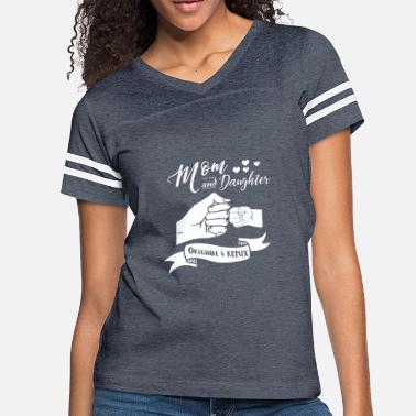 Remix Mom And Daughter Original And Remix - Women's Vintage Sport T-Shirt