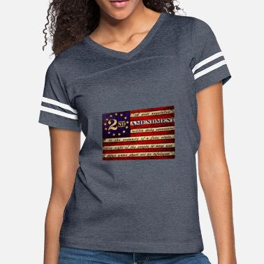 2nd Amendment Flag Second amendment flag - Women's Vintage Sport T-Shirt