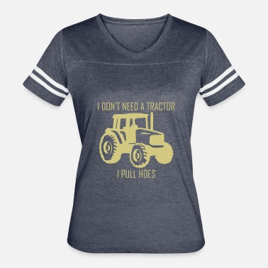 Tractor Lover Tractor Pulling Farm Lover - Women's Vintage Sport T-Shirt